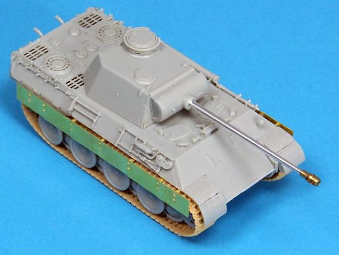 ドイツ パンター A/D型用 サイドスカートエッチング(アベール1/72 AFV用 エッチングパーツNo.72A002)商品画像_4