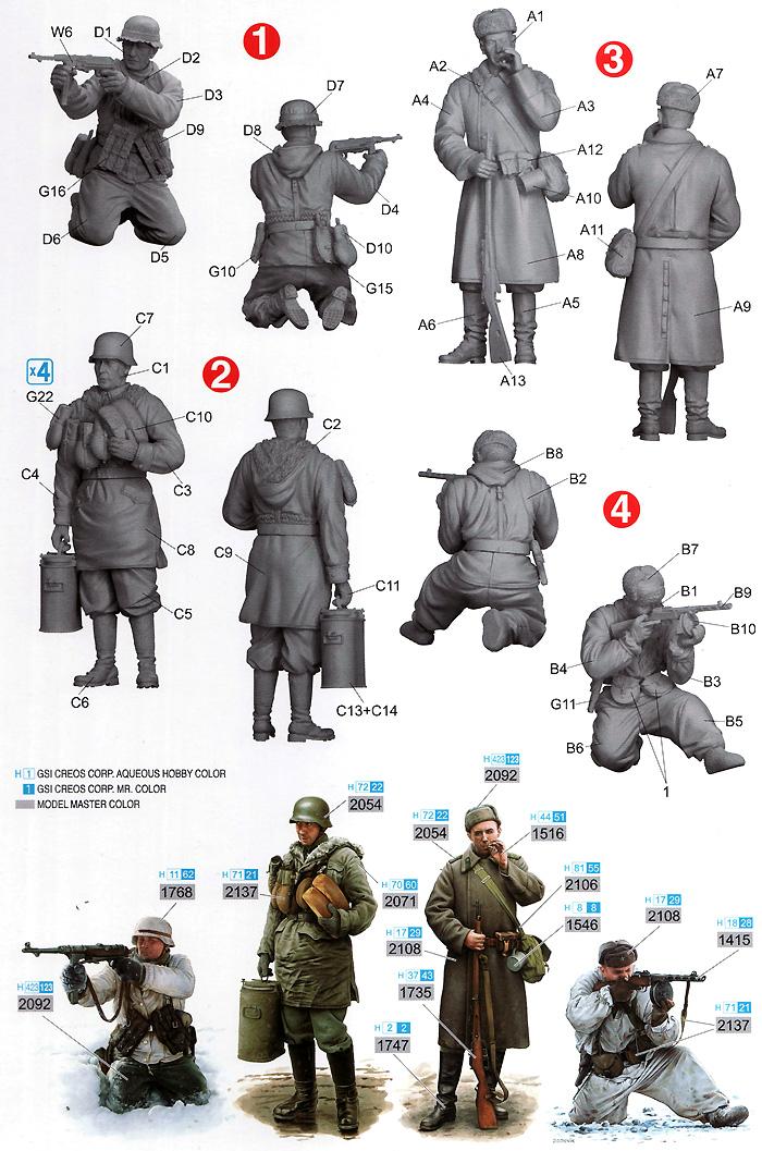 ハリコフ攻防戦 1943年プラモデル(ドラゴン1/35 '39-'45 SeriesNo.6782)商品画像_1