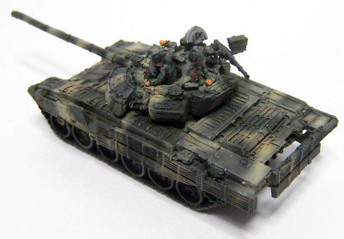T-72B2 スリングショットレジン(マツオカステン1/144 オリジナルレジンキャストキット (AFV)No.MATUAFV-062)商品画像_3