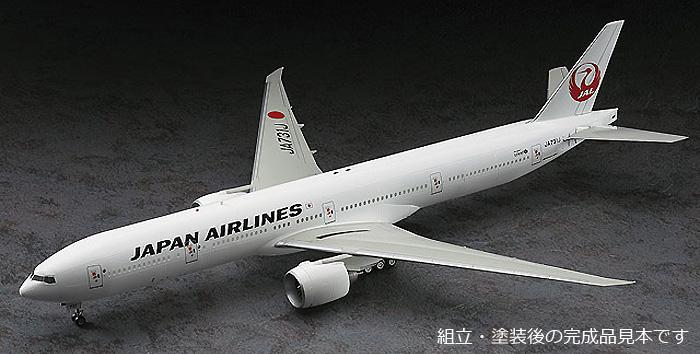 日本航空 ボーイング 777-300ERプラモデル(ハセガワ1/200 飛行機シリーズNo.019)商品画像_3
