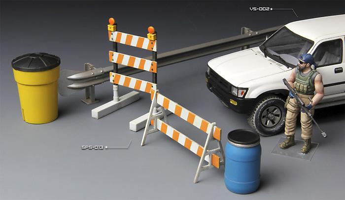 バリケード & ハイウェイガードレールプラモデル(MENG-MODELサプライ シリーズNo.SPS-013)商品画像_3