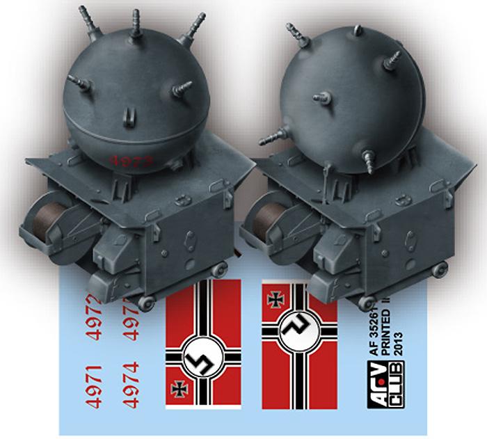 ドイツ海軍 EMC type2 機雷プラモデル(AFV CLUB1/35 AFV シリーズNo.AF35261)商品画像_3
