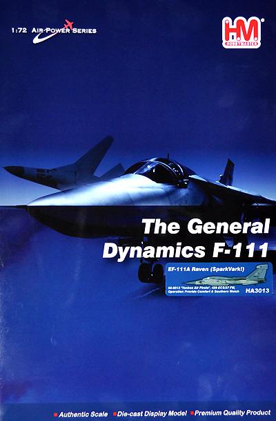 EF-111 レイヴン ヤンキー・エア・パイレーツ完成品(ホビーマスター1/72 エアパワー シリーズ (ジェット)No.HA3013)商品画像