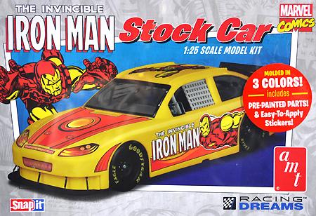 アイアンマン シェビー インパラ ストックカープラモデル(amt1/25 カーモデルNo.AMT856-12)商品画像
