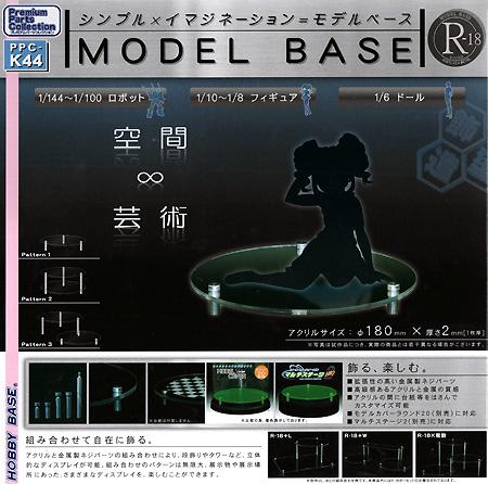 モデルベース R-18 (ラウンド18)ディスプレイ台(ホビーベースプレミアム パーツコレクション シリーズNo.PPC-K044)商品画像