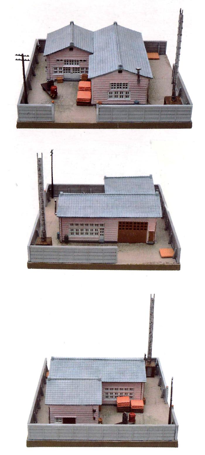 町工場 C3 (食品加工所)プラモデル(トミーテック建物コレクション (ジオコレ)No.009-3)商品画像_2
