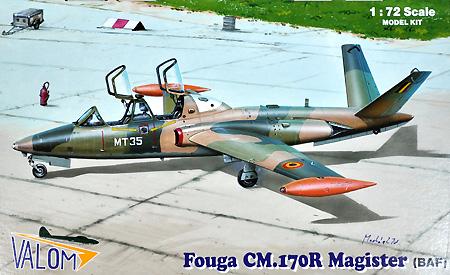フーガ マジステール CM.170R 練習機 (ベルギー空軍)プラモデル(バロムモデル1/72 エアクラフト プラモデルNo.72087)商品画像