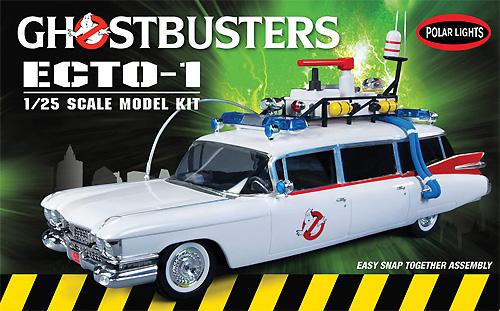 ゴーストバスターズ ECTO-1(エクトワン) スナップキットプラモデル(ポーラライツプラスチックモデルキットNo.POL914)商品画像