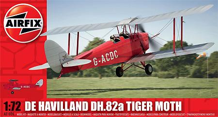デハビラント DH.82a タイガーモス G-ACDD 2013プラモデル(エアフィックス1/72 ミリタリーエアクラフトNo.A01024)商品画像
