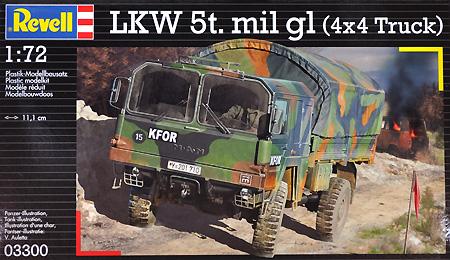 LKW 5t トラックプラモデル(レベル1/72 ミリタリーNo.03300)商品画像