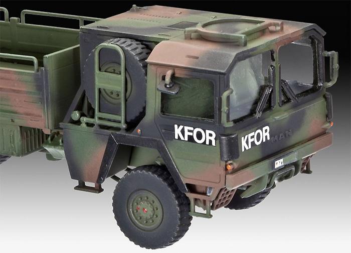 LKW 5t トラックプラモデル(レベル1/72 ミリタリーNo.03300)商品画像_2