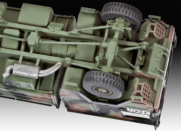 LKW 5t トラックプラモデル(レベル1/72 ミリタリーNo.03300)商品画像_3