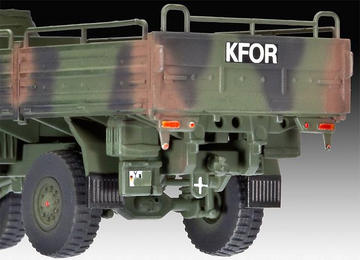 LKW 5t トラックプラモデル(レベル1/72 ミリタリーNo.03300)商品画像_4