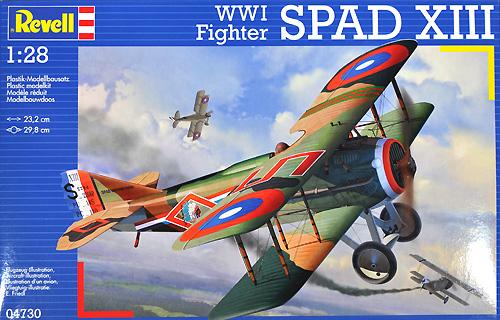 スパッド 13プラモデル(レベル飛行機モデルNo.04730)商品画像