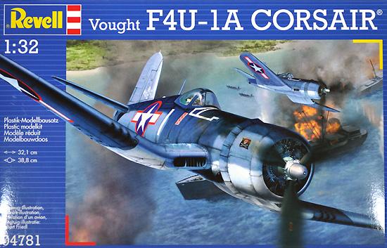 F4U-1A コルセアプラモデル(レベル1/32 AircraftNo.04781)商品画像