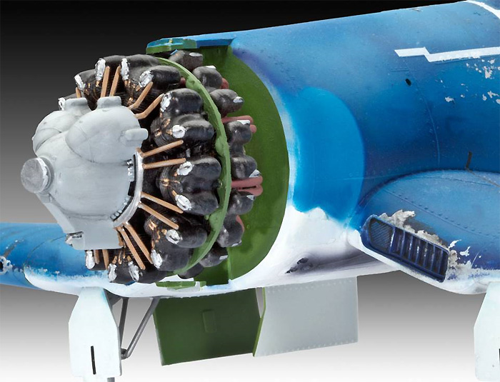F4U-1A コルセアプラモデル(レベル1/32 AircraftNo.04781)商品画像_2