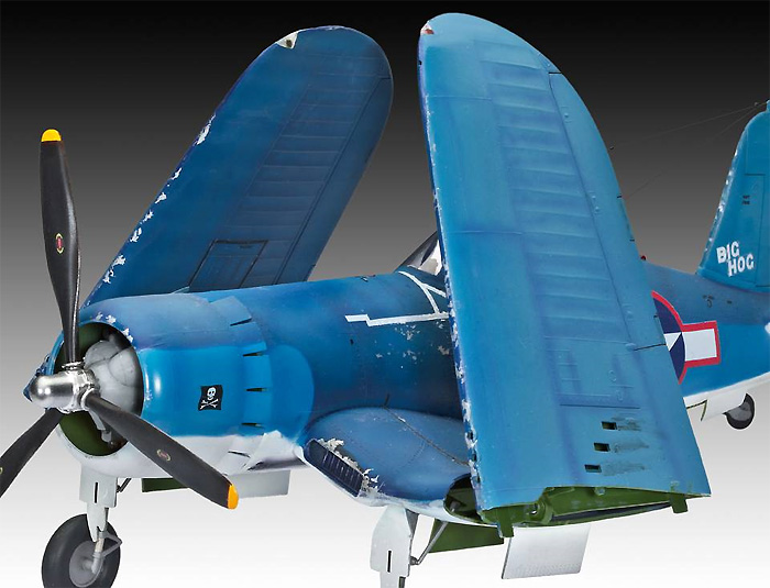 F4U-1A コルセアプラモデル(レベル1/32 AircraftNo.04781)商品画像_3