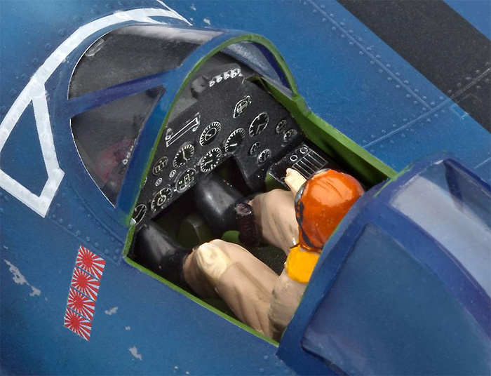 F4U-1A コルセアプラモデル(レベル1/32 AircraftNo.04781)商品画像_4