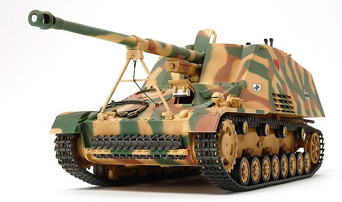 ドイツ 重対戦車自走砲 ナースホルンプラモデル(タミヤ1/35 ミリタリーミニチュアシリーズNo.335)商品画像_3