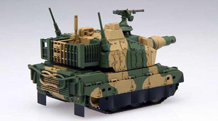 10式戦車プラモデル(フジミちび丸ミリタリーNo.旧001)商品画像_3