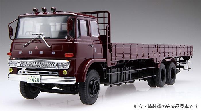 ふそう T951 後期型 平ボデープラモデル(アオシマ1/32 ヘビーフレイト シリーズNo.015)商品画像_2