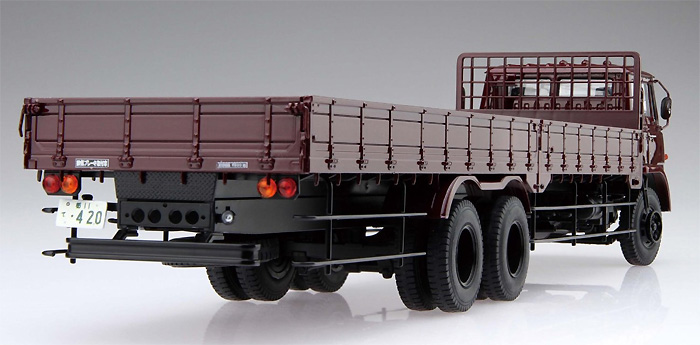 ふそう T951 後期型 平ボデープラモデル(アオシマ1/32 ヘビーフレイト シリーズNo.015)商品画像_3