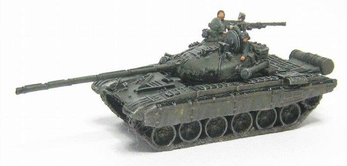 T-72Mレジン(マツオカステン1/144 オリジナルレジンキャストキット (AFV)No.MTUAFV-065)商品画像_3