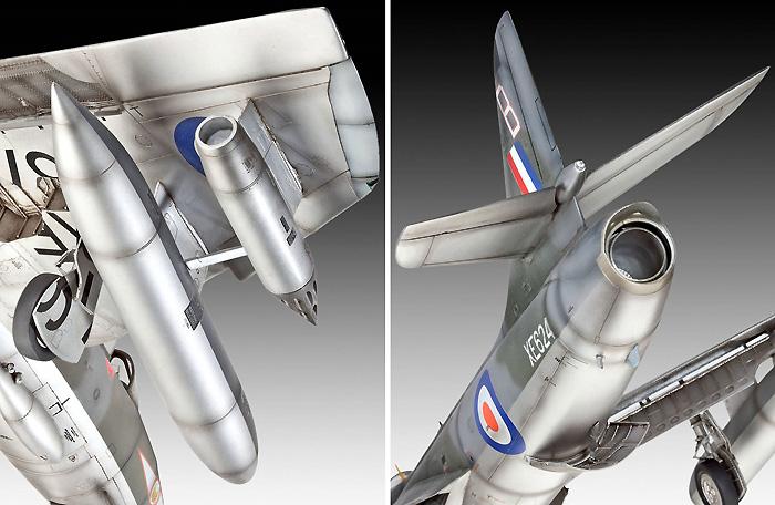 ホーカー ハンター FGA.9 / Mk.58プラモデル(レベル1/32 AircraftNo.04703)商品画像_2