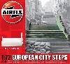 ヨーロッパの街の階段