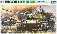 タミヤ1/35 ミリタリーミニチュアシリーズアメリカ M60A1 戦車