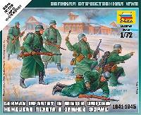 ズベズダART OF TACTICドイツ歩兵セット 1941-1945 (冬季服)