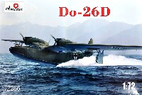 Aモデル1/72 ミリタリー プラスチックモデルキットドルニエ Do-26D 長距離飛行艇