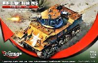 M5 スチュアート軽戦車 チュニジア 1942年
