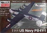 ミニクラフト1/144 軍用機プラスチックモデルキットアメリカ海軍 PB4Y-1 カルバート & コーク