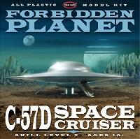 ポーラライツプラスチックモデルキットC-57D スペースクルーザー (禁断の惑星)