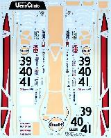 タブデザイン1/24 デカールマクラーレン F1-GTR Gulf #39/40/41 ルマン 1997