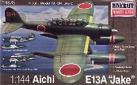 ミニクラフト1/144 軍用機プラスチックモデルキット愛知 E13A 零式水上偵察機