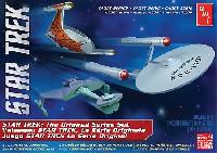 amtスタートレック(STAR TREK)シリーズスタートレック 宇宙大作戦 3艦セット