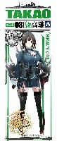 アオシマ艦隊コレクション プラモデル重巡洋艦 高雄 (艦隊コレクション)