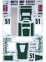 タブデザイン1/24 デカールマクラーレン F1-GTR HARRODS #9 ルマン 1995