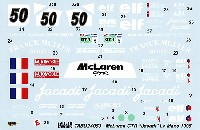 タブデザイン1/24 デカールマクラーレン F1-GTR ジャカディ #50 ルマン 1995