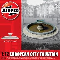 ヨーロッパの街の噴水