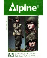 アルパイン1/35 フィギュアWW2 アメリカ軍 BAR 銃手
