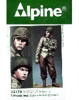 アルパイン1/35 フィギュアWW2 アメリカ軍 歩兵 (防寒ジャケット)