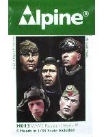 アルパイン1/35 アクセサリーWW2 ソ連 ヘッドセット #1