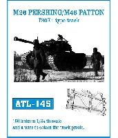 M26パーシング/M46パットン T80E1 全鋼製履帯
