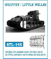 フリウルモデル1/35 金属製可動履帯シリーズホイペット/リトルウィリー用履帯