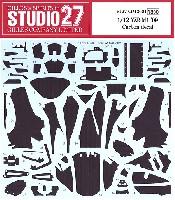 スタジオ27バイク カーボンデカールヤマハ YZR-M1 2009 カーボンデカール