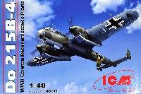 ICM1/48 エアクラフト プラモデルドルニエ Do215B-4 双発偵察機