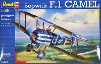 レベル飛行機モデルソッピース F.1 キャメル